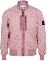 Stone Island Pink Shell Bomber Jacket