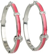 GUESS Clutchless w/ Buckle Epoxy Hoop
