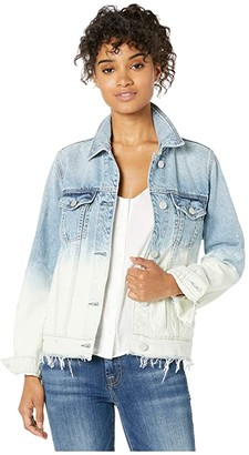 Blank NYC Two-Tone Denim Jacket in Low Rider