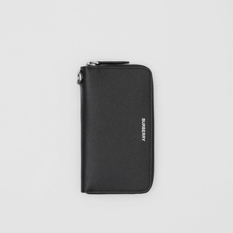 Burberry Grainy Leather Phone Wallet