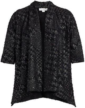 Caroline Rose, Plus Size Showtime Check Me Out Cardigan