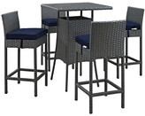 Modway Sojourn 5 Piece Bar Set with Cushion Cushion