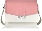 Paula Cademartori Twiggy Multicolor Leather Shoulder Bag