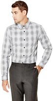 GUESS Stan Yarn-Dyed Check Slim-Fit Shirt