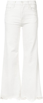 Mother High-Waist Flared Jeans