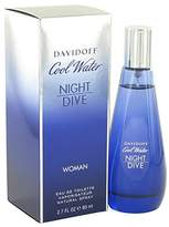 Davidoff Cool Water Night Dive by for Women - Eau De Toilette Spray 80 ml