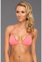 CA by Vitamin A Swimwear - Rio Ruffle Halter Top (Mint) - Apparel