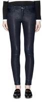 L'Agence 'Aurelie' lambskin leather leggings