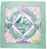 Hermes Giverny Silk Scarf