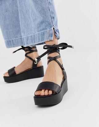 Raid RAID Denise black flatform sandals