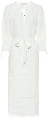 Heidi Klein Aruba linen midi dress