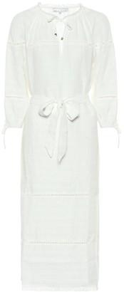 Heidi Klein Aruba linen midi dress