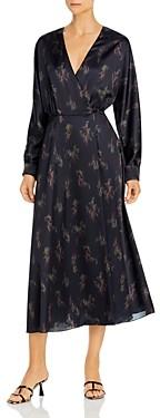 Vince Wisteria Wrap Dress