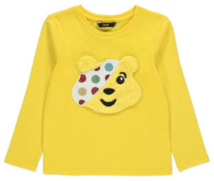 George Children in Need Pudsey Bear Faux Fur Top