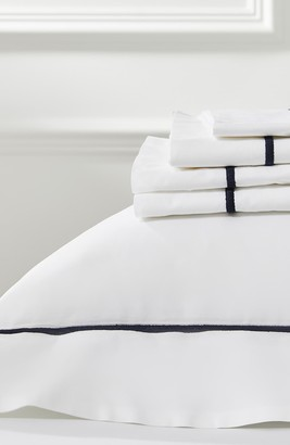 The White Company Luxury Savoy 200 Thread Count Flat Sheet