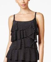 Miraclesuit Pin Point Tiered Tankini Top