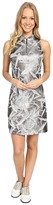 Jamie Sadock Planet J Print Textured Dress
