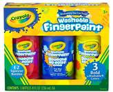 Crayola Bold Washable Fingerpaint 3ct 8oz
