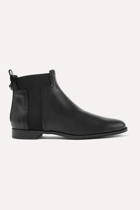 Tod's Leather Chelsea Boots - Black
