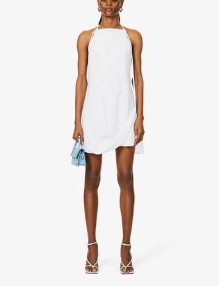 Jacquemus La Robe Figuerolles woven mini dress