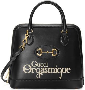 Gucci 1955 Horsebit medium top handle bag