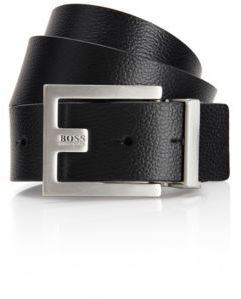 Hugo Boss Fleming Reversible Leather Belt 28 Black