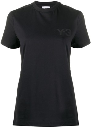 Y-3 boxy round neck T-shirt