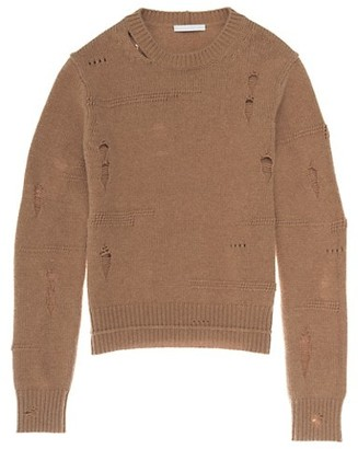 Helmut Lang Distressed Crewneck Sweater