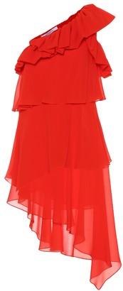 Givenchy Silk one-shoulder dress
