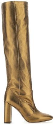 L'Autre Chose Knee-High Block-Heel Boots
