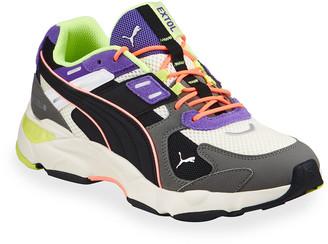 Puma Men's LQDCELL Extol Archive Mix Media Trainer Sneakers