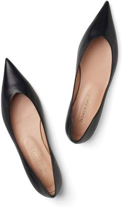Lou.Earl Vivienne Ultra-Pointed Flats In Black