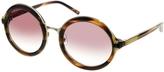 For Phillip Lim Round Sunglasses - Brown