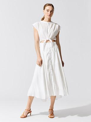 NSF Sally Front Tie Dress