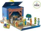 Kid Kraft Nativity Travel Box Play Set