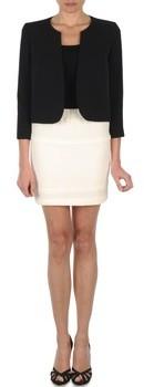 LOLA Cosmetics JUMBO CORDONNETTO women's Skirt in White