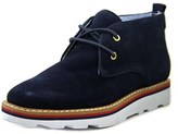 Tommy Hilfiger Prep Round Toe Suede Chukka Boot.