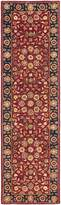 "Safavieh Heritage Collection HG966A Handmade and Navy Wool Runner, 2 feet 3 inches by 10 feet (2'3"" x 10')"