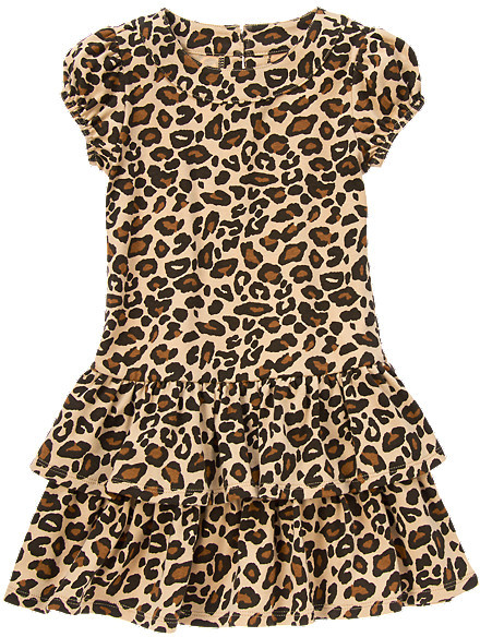 Gymboree Leopard Ruffle Dress