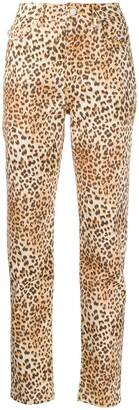 Fiorucci Tara leopard print jeans