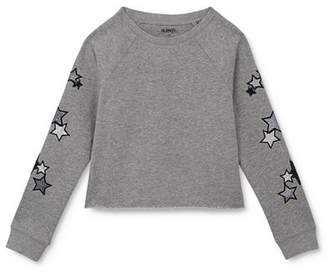 Hudson Girls' Star Sweatshirt - Big Kid