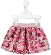 Fendi Bag Bugs skirt - kids - Cotton/Polyamide/Polyester - 12 mth