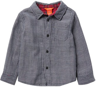 Joe Fresh Knit Long Sleeve Shirt (Toddler & Little Boys)