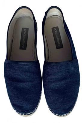 Dolce & Gabbana Blue Cloth Espadrilles