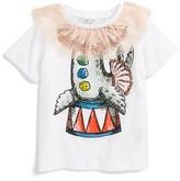 Stella McCartney Toddler Girl's Arlow Circus Sea Lion Tee