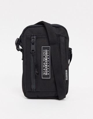 Napapijri Horizon small cross-body bag in black
