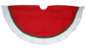 Northlight Contemporary Christmas Tree Skirt