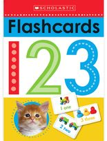Scholastic Write and Wipe Flashcards 123