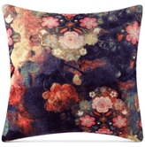 "Tracy Porter Fleur Velvet 18"" Square Decorative Pillow"