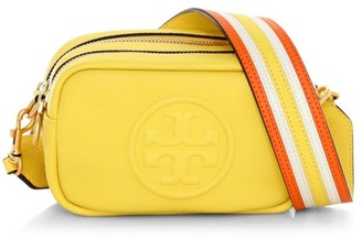 Tory Burch Mini Perry Bombe Leather Camera Bag